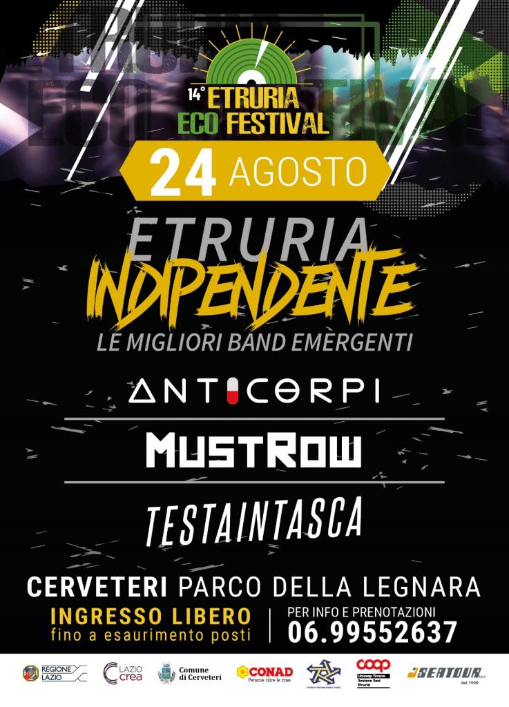 Cerveteri, inizia la 14° edizione dell'Etruria Eco Festival
