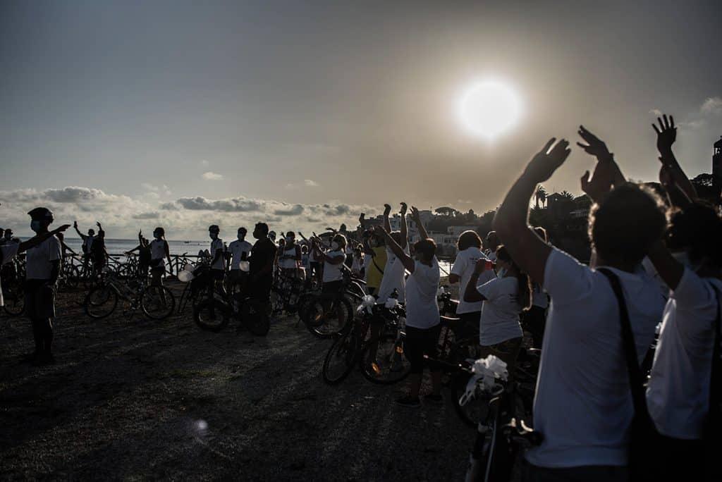 Santa Marinella, successo per la tradizionale pedalata di solidarietà de
