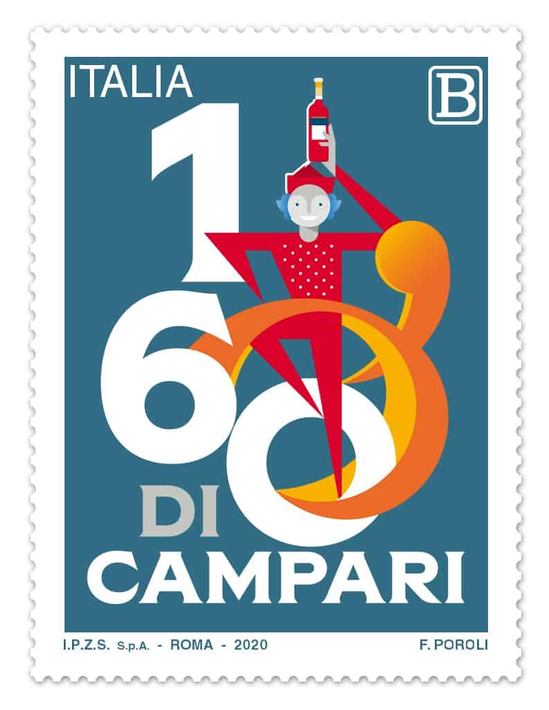 Poste Italiane, arriva il francobollo dedicato alla Davide Campari
