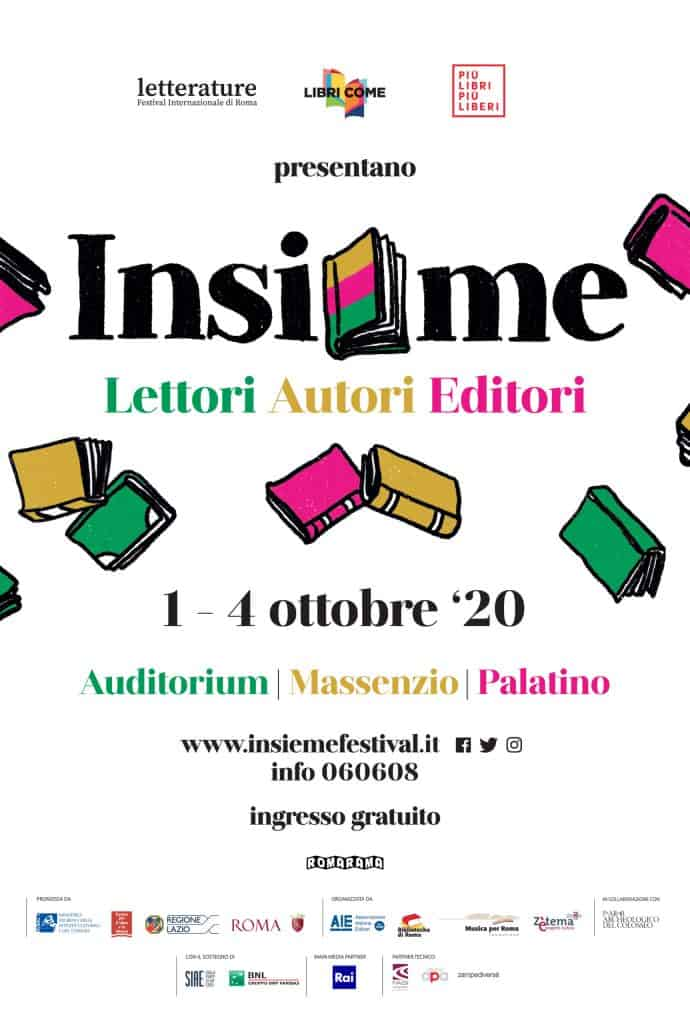 Cultura, ad ottobre 'Insieme' nuovo festival dell'editoria