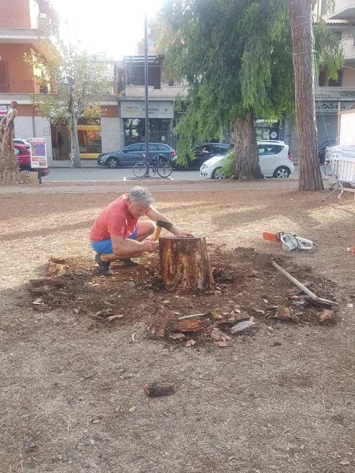 Ladispoli, partita la riqualificazione dei giardini Nazareno Fedeli