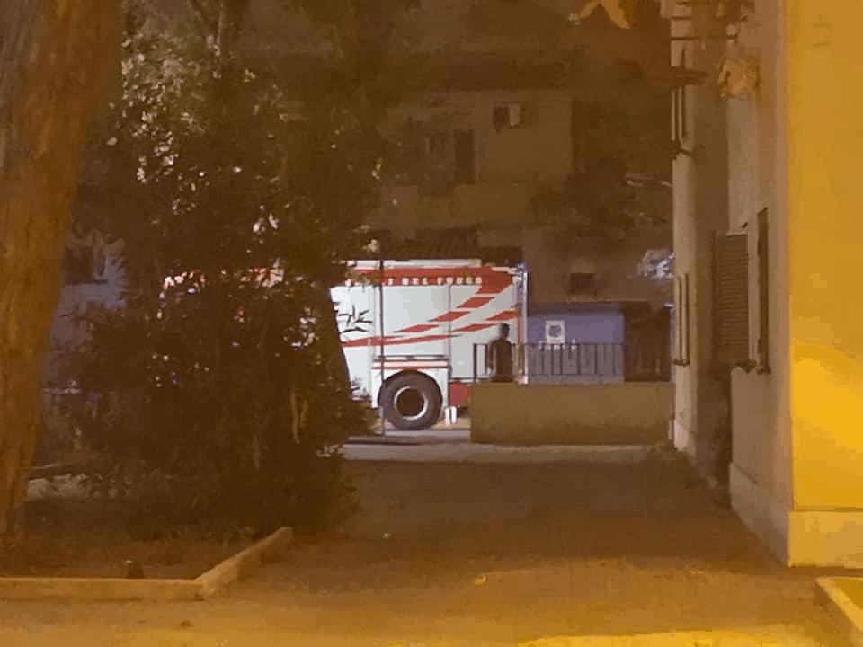 Fiumicino, crolla il solaio davanti la porta di un alloggio popolare