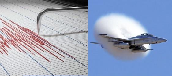 Terremoto o aereo supersonico? A Cerveteri allertato il COC