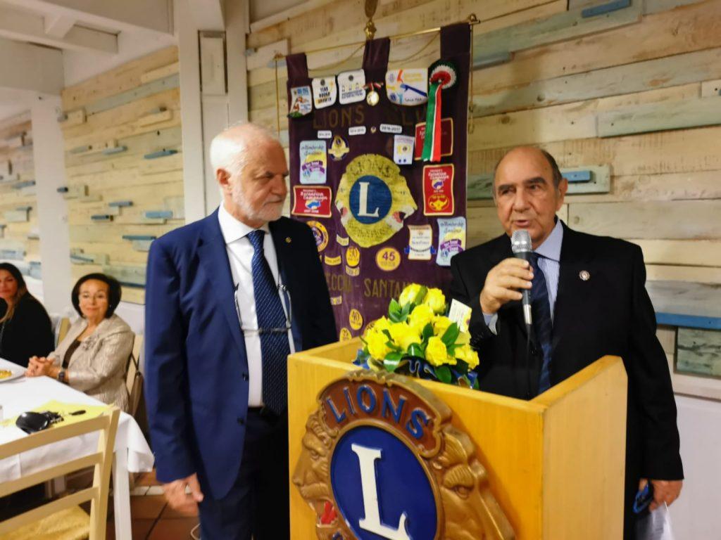 """Civitavecchia, il Lions International celebra Valentino Carluccio con il premio """"Diamante"""""""