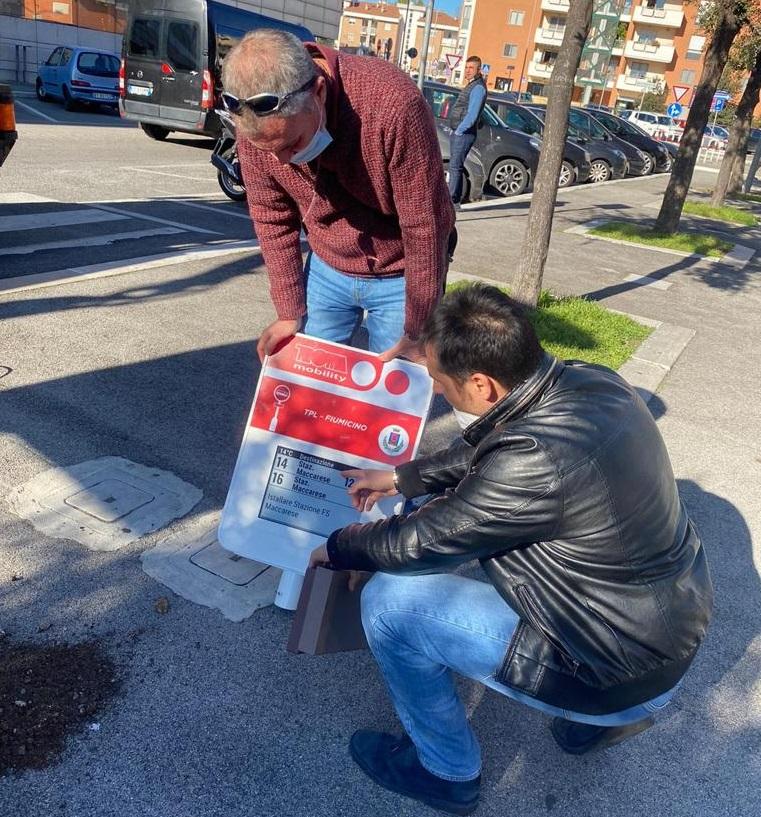 Tpl Fiumicino, iniziata l'installazione delle paline elettroniche su tutto il territorio