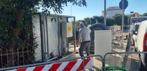 S. Marinella, eseguiti in tempo reale i lavori sul tratto crollato al fosso Santa Maria Morgana
