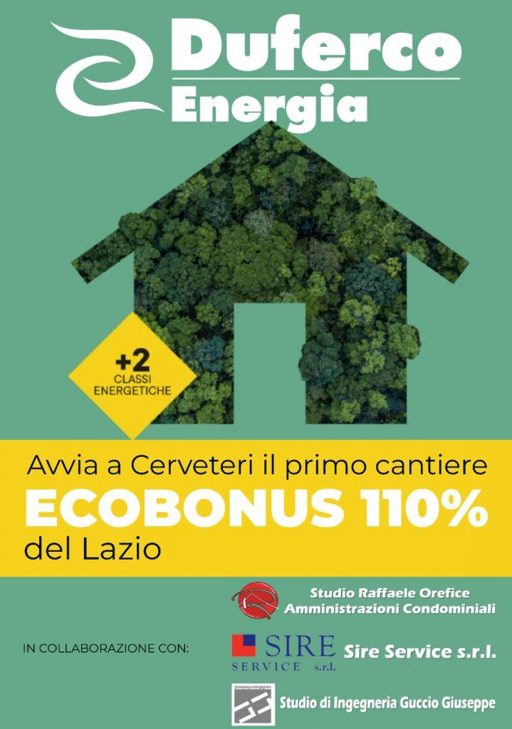 Raffaele Orefice avvia a Cerveteri il primo Cantiere Ecobonus 110% del Lazio
