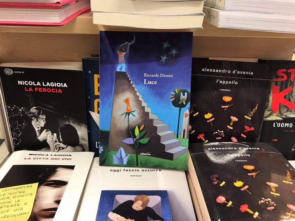 """Alla libreria Scritti e Manoscritti di Ladispoli, """"Luce"""", il libro di Riccardo Dionisi"""