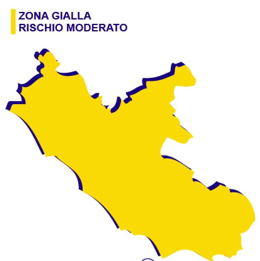 Nuovo DPCM: 14 regioni, tra cui il Lazio, in zona gialla.