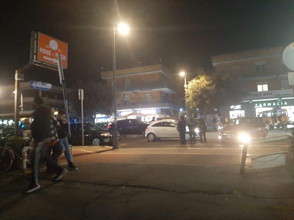 Ladispoli, scontro tra due auto