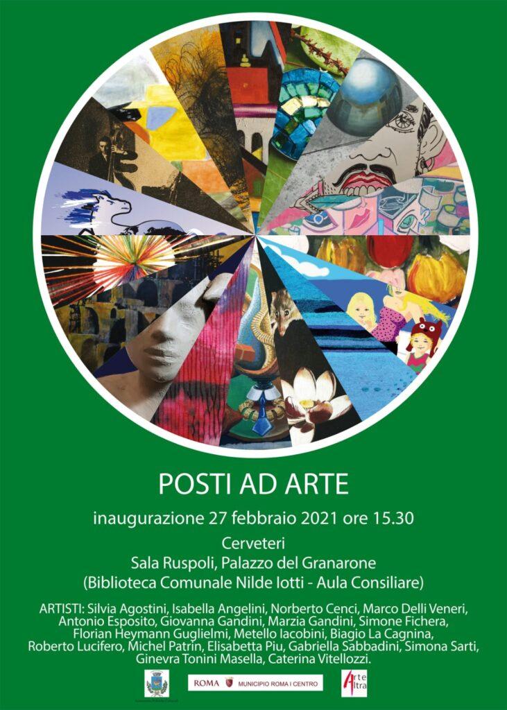 "Cerveteri, ""Posti ad Arte"": opere d'arte distanziate a Sala Ruspoli e Granarone"