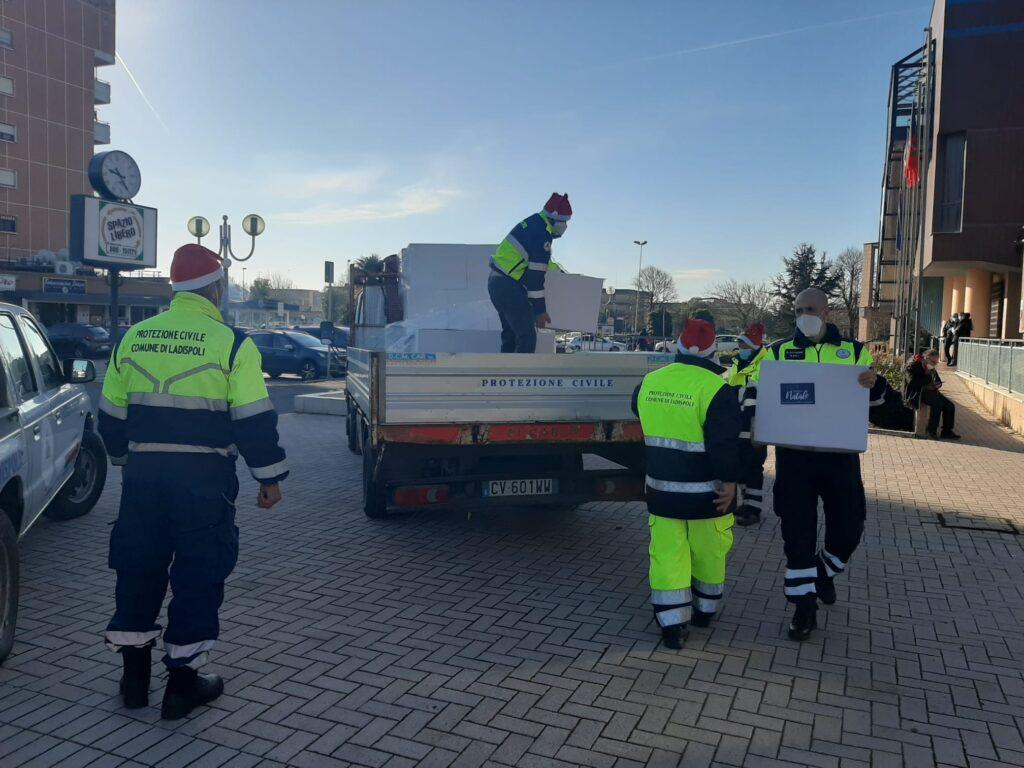 Ladispoli, oltre due mila pacchi ai più bisognosi della città