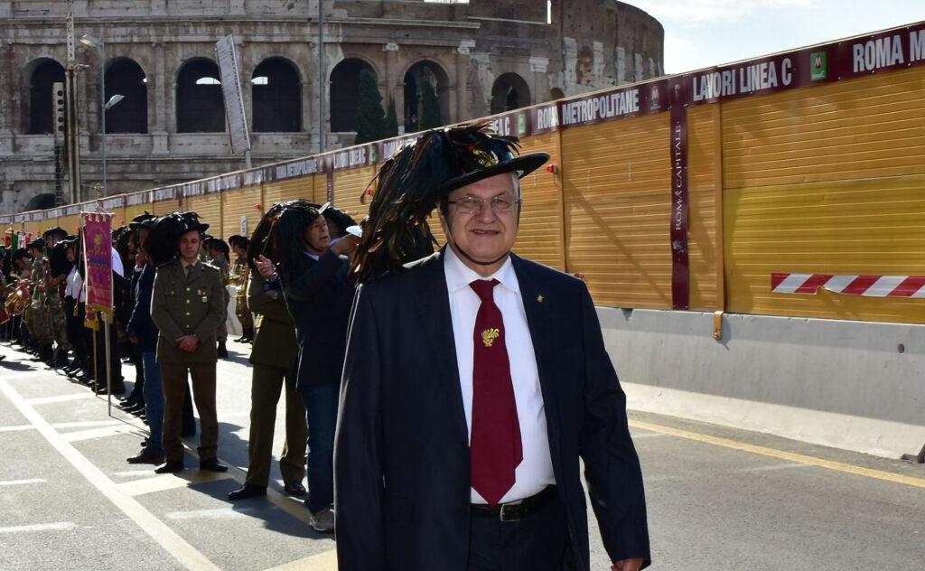 Ladispoli, Roberto Battilocchio nuovo presidente della sezione bersaglieri
