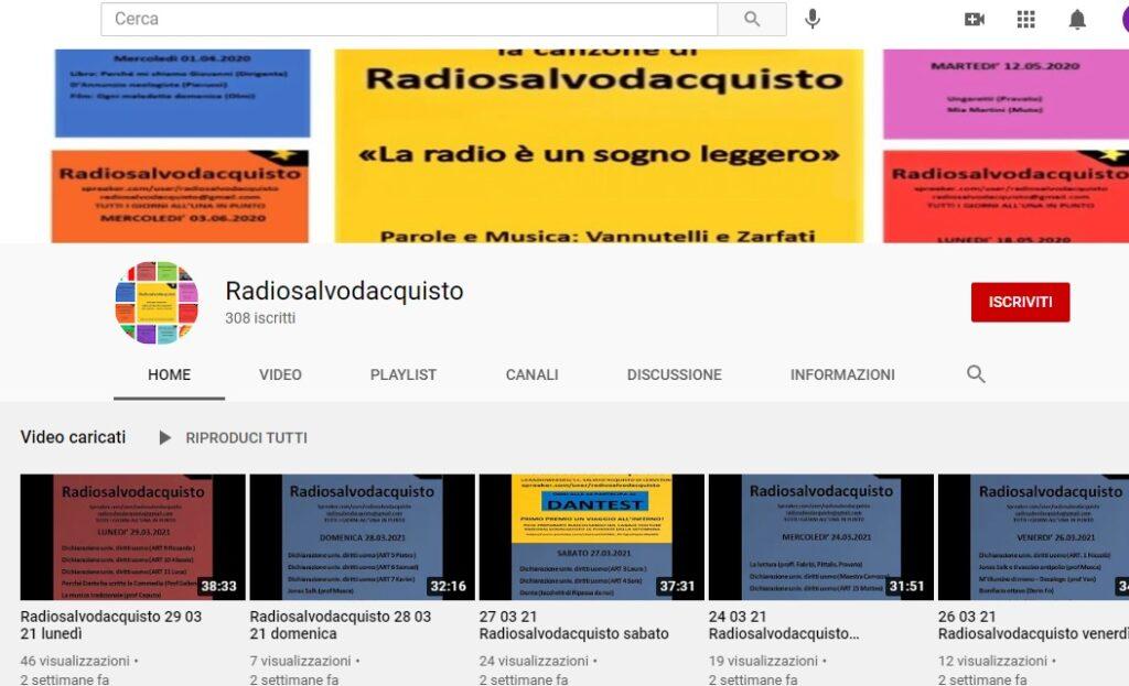 """La Salvo D'Acquisto di Cerveteri su youtube, Pascucci: """"Raggiungiamo le mille iscrizioni"""""""