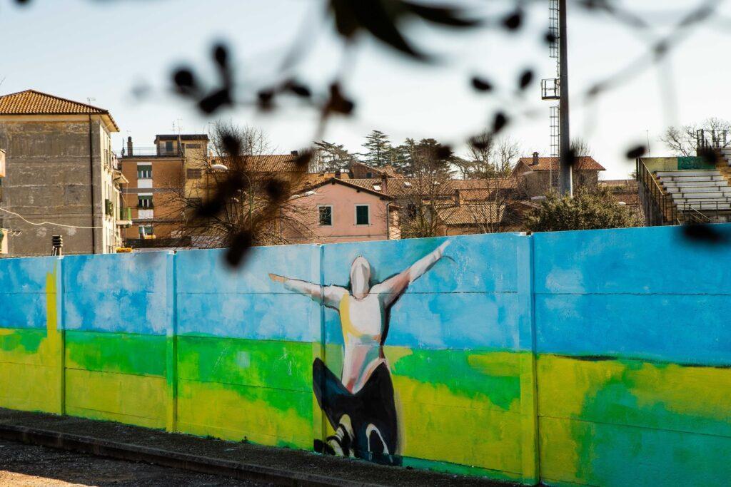 """Manziana: sabato l'inaugurazione dell'opera di street art """"Incontri"""""""