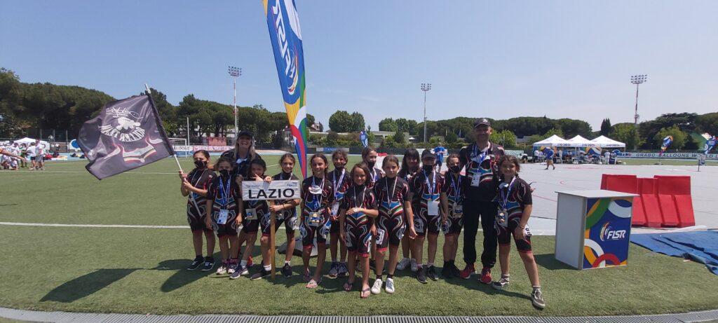 La Debby Roller Team rientra con 3 medaglie alla prima tappa degli italiani Roller Games 2021