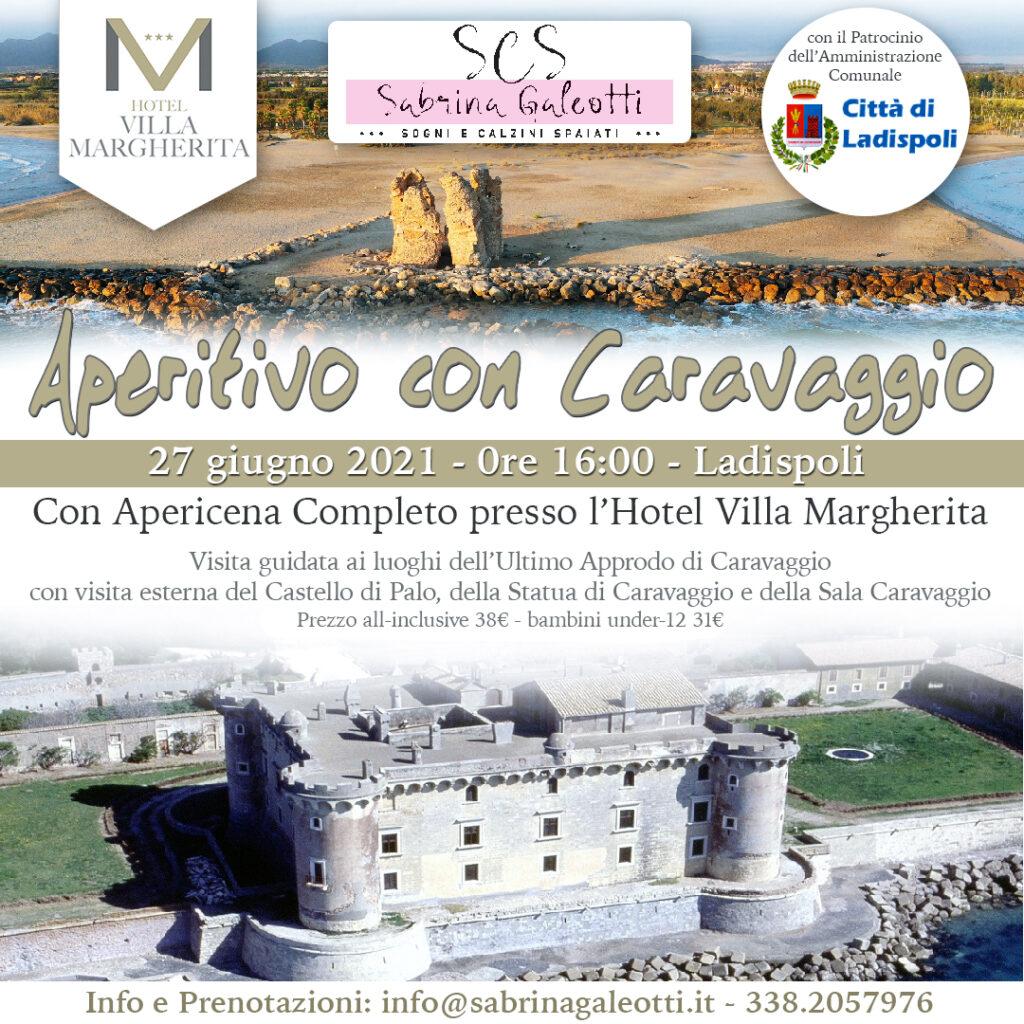Aperitivo con Caravaggio a Ladispoli Hotel Villa Margherita