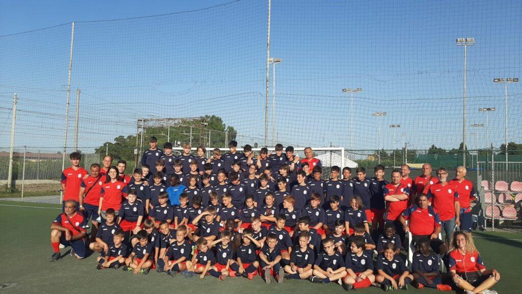 Ladispoli, festa di fine anno per la scuola calcio Il Gabbiano