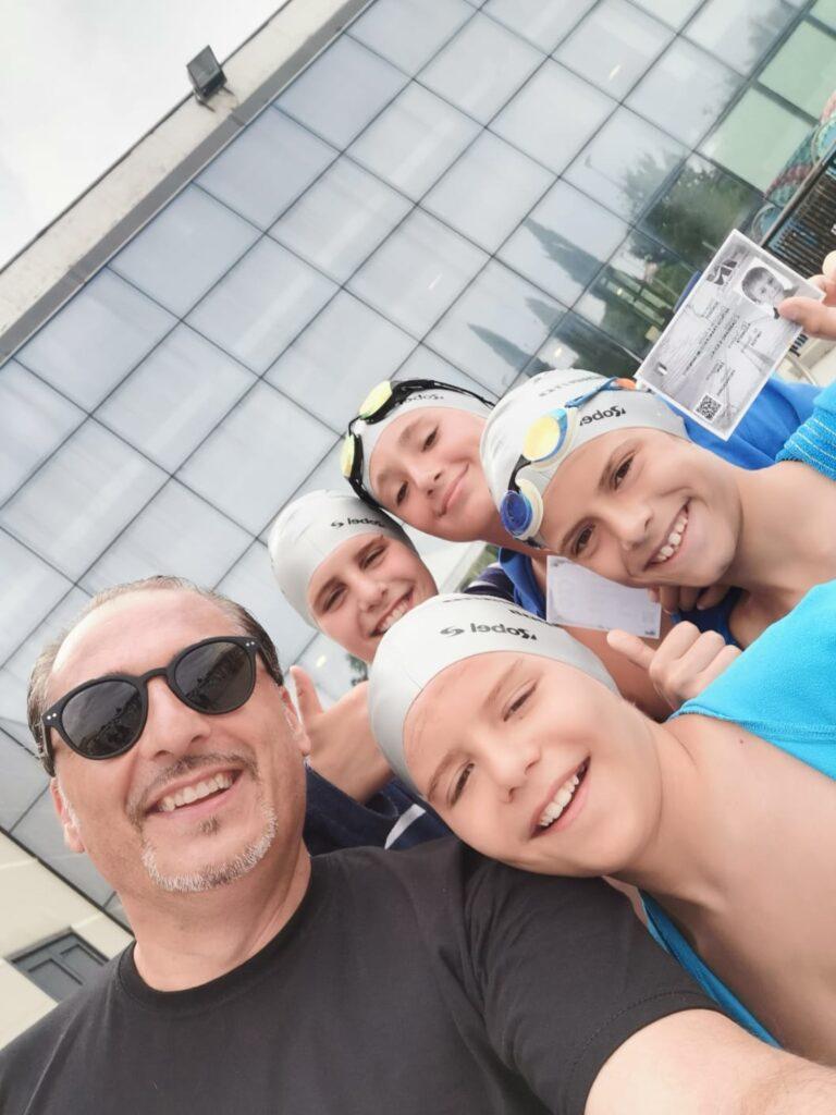 """Ladispoli: Il Gabbiano """"vola"""" alle finali regionali di nuoto per gli Esordienti B F.I.N."""