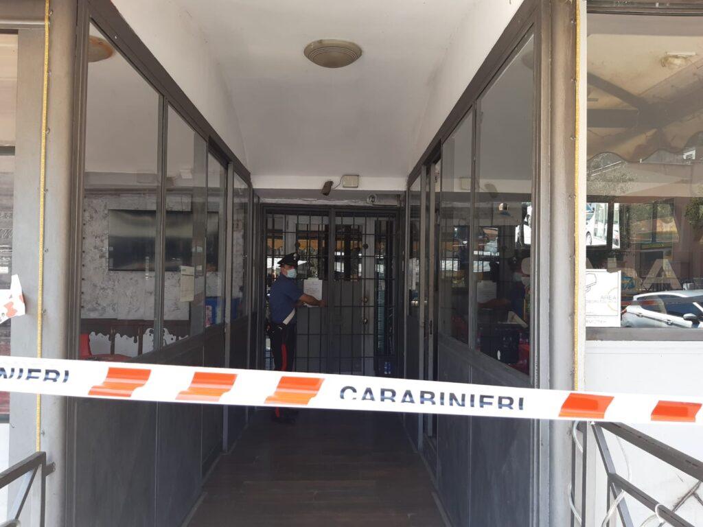 Morlupo: chiuso dai Carabinieri bar frequentato da pregiudicati