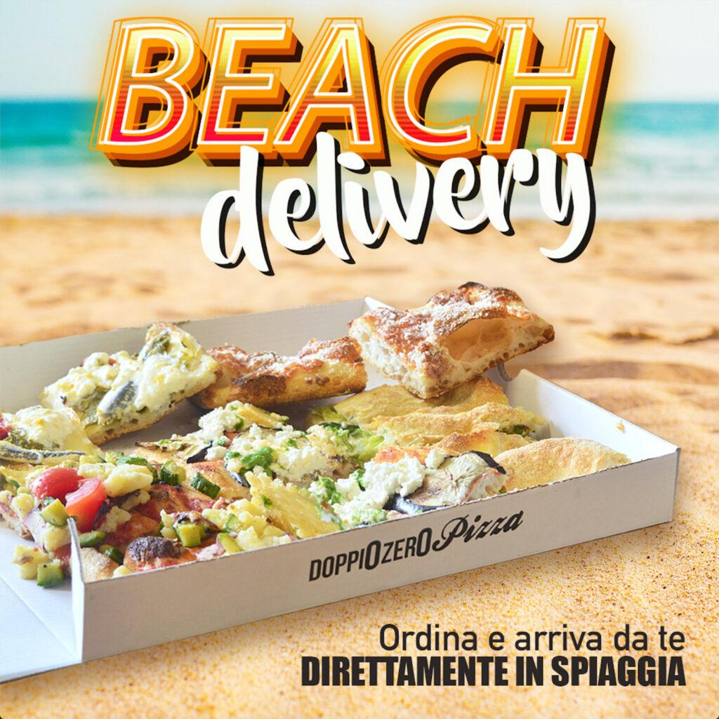 Doppio Zero Beach Delivery