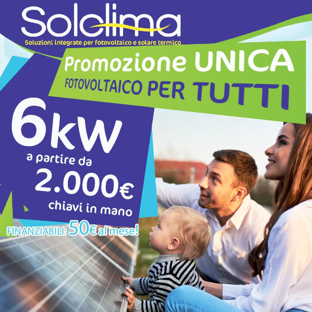 Offerta Fotovoltaico per Tutti Danilo Campanella SolClima sui nostri impianti non tramonta mai il sole