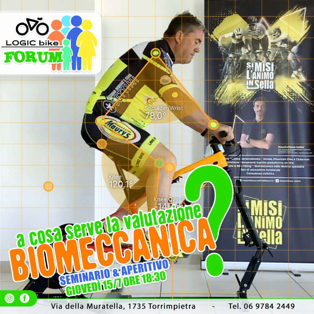 ciclismo biomeccanica logic bike massimiliano sellini