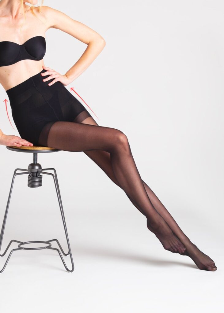 calze riposanti Hélène Oui collant a pressione graduale