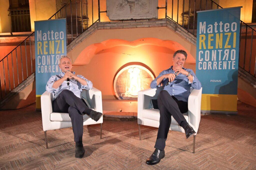 """""""Contro Corrente"""", il circolo Italia Viva di Cerveteri alla presentazione del libro di Matteo Renzi"""
