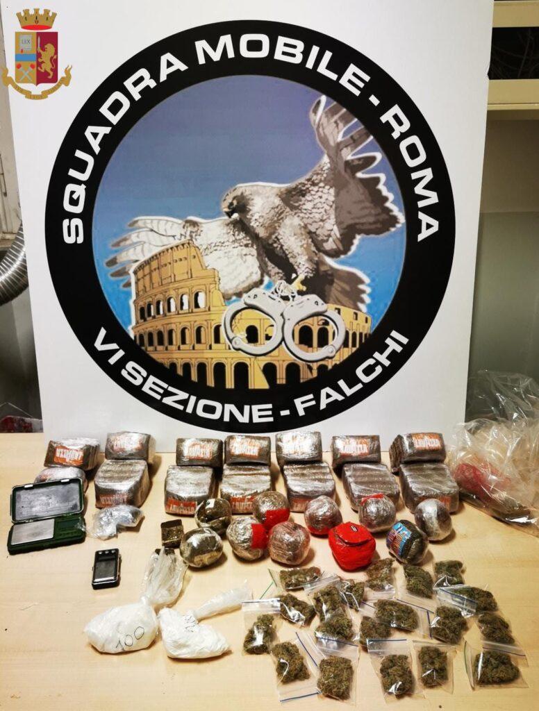 guidonia droga sequestrati arrestato