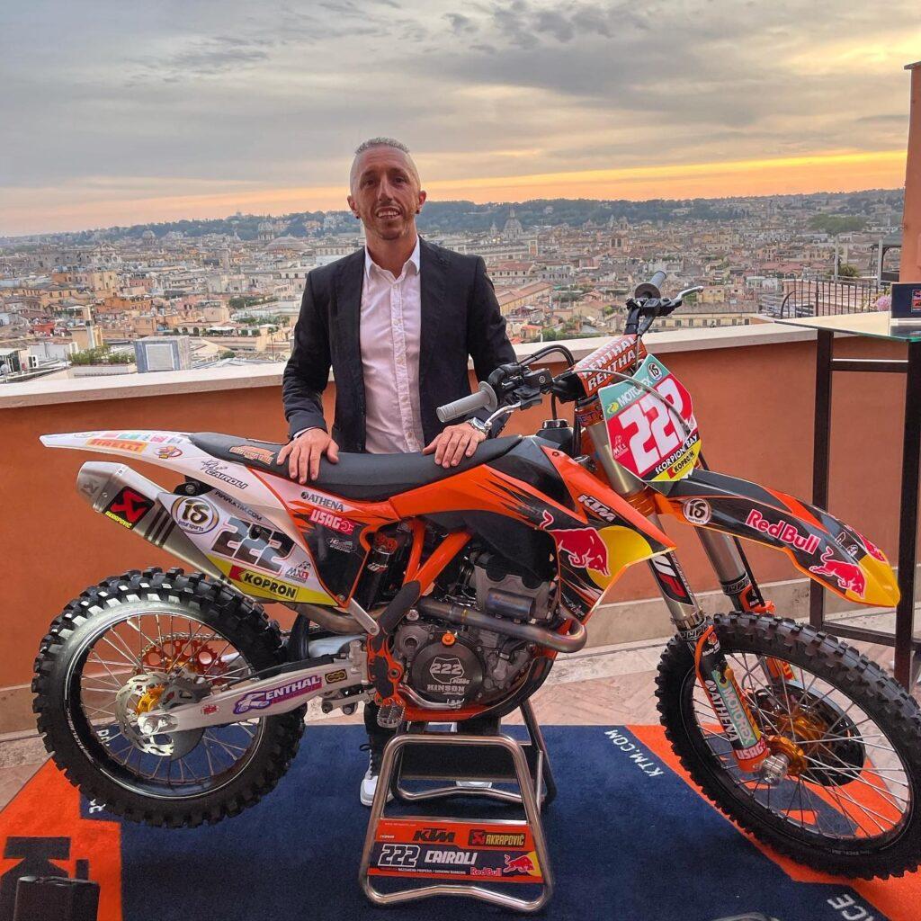 Pilota Motocross Antonio Cairoli