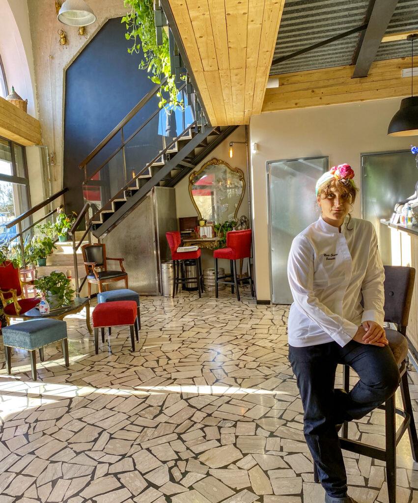 chef Maria Chiara Brannetti ristorante Six Loft ladispoli