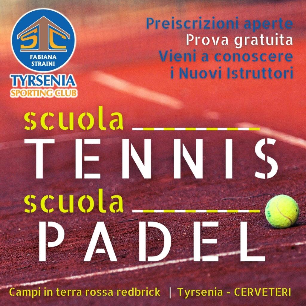 scuola tennis padel cerveteri tyrseniaTyrsenia